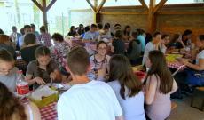 Ebéd a vukovári magyarok házában