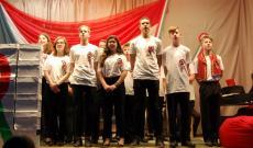 A gödöllői diákok ünnepi műsora