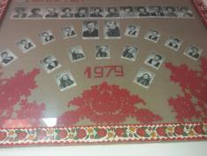 Egy mérai iskolai tablóké 1979-ből