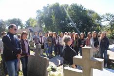 Zsélyi Nagy Lajos, 20. századi szlovákiai magyar költő sírjánál