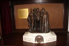 Mikszáth szobra a Jó palócokkal - írói munkássága 40 éves jubileumára