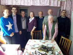 Milijašević család és az egyesület képvilői