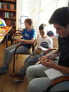 Rubik -kocka foglalkozás Mogyorósi Hunorral