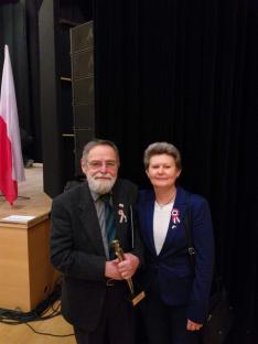 Díjátadás dr. Engelmayer Ákos és Lang Zófia