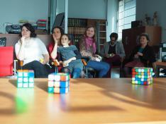 Rubik- kocka előadás Mogyorósi Hunorral