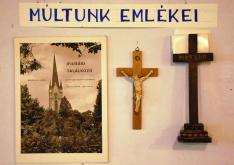 A templom múltját idéző kiállítás