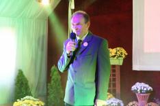 A rendezvény díszvendége, Pataky János, a Kárpát-medencei Családszervezetek Szövetségének elnöke