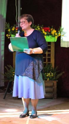 XIII. SULISZTÁR - Milánovity Ottília - elnökasszony köszönti a vendégeket