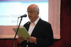 Milánovits Tibor, szavalatával zárja az előadást