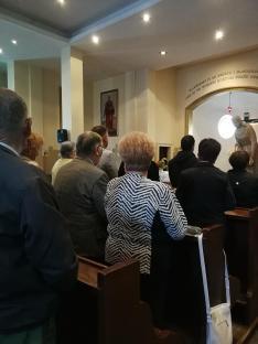 Drobina Gábor celebrálta szentmise, az aradi vértanuk tiszteletére.