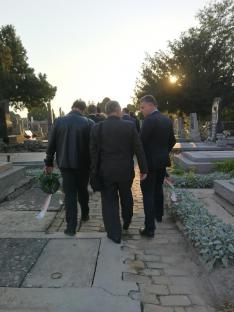 Szent Rókus temető.