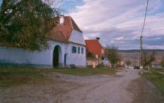 Szászfehéregyházi utcakép