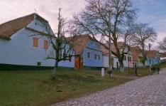 Szász polgárházak Szászfehéregyházán