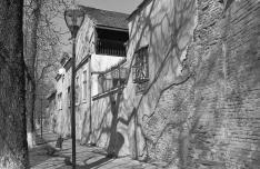 Szász polgárházak a régi városfal mentén Medgyesen
