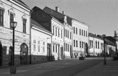 Csíkszereda belvárosi sétálóövezete, a Petőfi utca