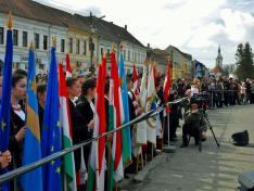 Székelykeresztúr március 15-i ünnepi megemlékezése