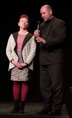 Szedlák Gyula és Szántóné Hermányos Mária