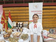 A magyar stand