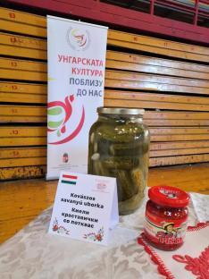 Kovászos uborka Macedónia