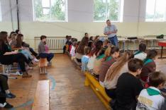 Popovics Pál, a KáMCSSZ elnöke évértékelőt tart