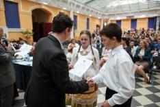 Minden résztvevő oklevelet kapott - köztük a Beregrákosi Latorca Néptánccsoport is