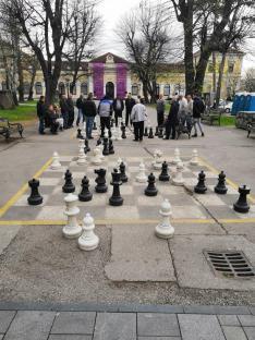 Balkáni utcakép