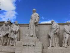 Kossuth szobor- Kossuth Lajos tér