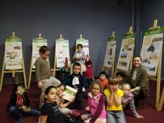 Az elsősök is részt vettek a kiállításon