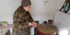 Törökbúza főzése hamuban