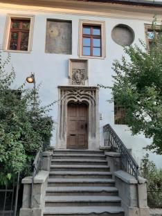 A város legrégebbi épülete magyar címerrel - Nagyszeben