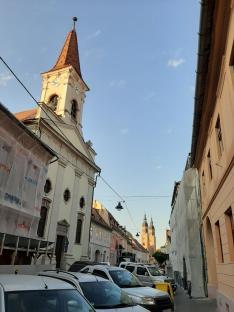 A református és az ortodox templom - Nagyszeben
