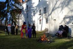 A farsangi esküvő első rigmusai