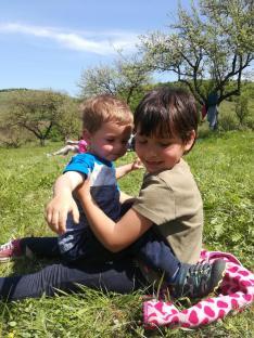 Gyerekek a szabadban :)
