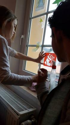 ablakfestés