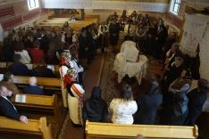Úrvacsorával egybekötött ünnepi istentisztelet