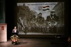Tamás Péter, Temesvár tiszteletbeli magyar konzuljának ünnepi nyitóbeszéde