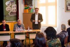 Halász Ferenc, a Bartók Béla Alapítvány elnöke nyitotta meg a konferenciát