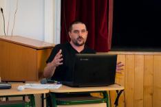 Kiss Tamás, a kolozsvári Kisebbségkutató intézet munkatársának előadása a vegyes házasságok társadalmi következményeiről