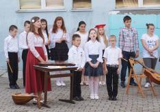 Legkisebbek éneke a Tanévzáró Műsoron