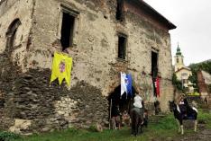 A Báthory vár lakóépülete