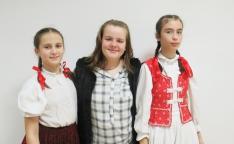 Énekes tanítványaim: Kulcsár Cintia, Vári Kamilla és Tőtős Petra