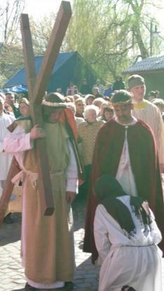 Jézus és Veronika találkozása
