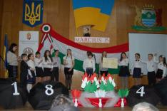A gyertyánligeti vasárnapi iskolások ünnepi műsora