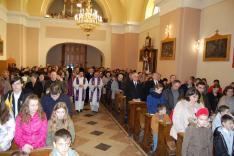 Őkomenikus Istentisztelet a rahói Nepomuki Szent János Plébánián