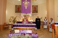Őkomenikus Istentisztelet a rahói Nepomuki Szent János Plébánián; a rahói Mikulyák László esperesplébános