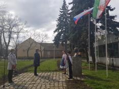 Március 15-i megemlékezés Magyarcsernyén