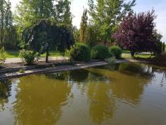 kisoroszi tájház - halastó