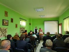 történész konferencia a kisoroszi tájházban