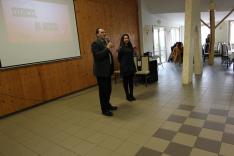 Hajtman Béla, az alsóbodoki szakközépiskola igazgatója értékelte a nyílt napot