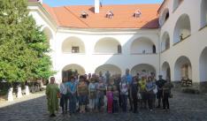 Lévai magyar iskolák tantestülete a Munkácsi Várban